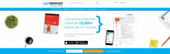 Content Curation, Getabstract
